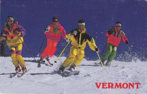 Skiing in Vermont,  40-60s