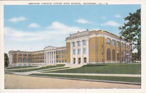 Abraham Lincoln Junior High School, ROCKFORD, Illinois, 30-40's