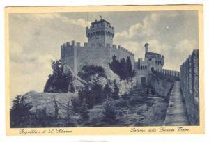 Repubblica di San Marino, Interno della Seconda Torre, 10-20s