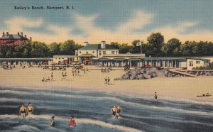 NEW PORT, Rhode Island, PU-1943; Bailiey's Beach