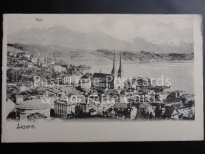 c1904 - Switzerland: Luzern, Rigi