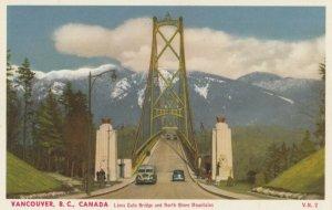 VANCOUVER , B.C. ,1930s ; Lion Gate Bridge