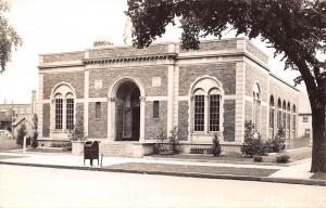 Oelwein Iowa~Mail Dropbox~Door Open @ Post Office~Cool,Calm,Summer Day RPPC 1945