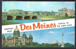 Greetings From Des Moines,IA