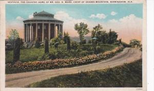 Alabama Birmingham Vestavia Home Of Mr George B Ward Crest Of Shades Mountain...