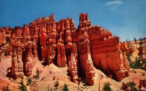 UT - Bryce Canyon, Formations in Fairyland