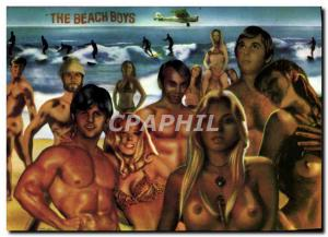 Postcard Modern Naked erotic Woman The Beach Boys Movie Stars Ger van Wulften