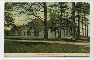 Olcott Beach Hotel Olcott New York 1908 postcard