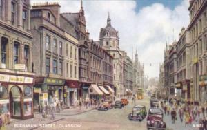 Scotland Glasgow Buchanan Street