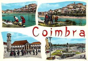 Portugal Coimbra Alguns aspectos da Cidade Traditional Costumes Statue Monument