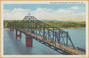 Jefferson City, MO., Missouri River Bridge -