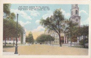 SAVANNAH, Georgia, 1900-1910's; Bull Street, Independent Presbyteria Church