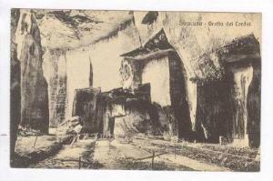 SIRACUSA, Italy, 00-10s, Grotta dei Cordai