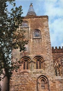 Portugal Evora The Cathedral Romano Gothic Tower Postcard