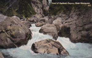 VANCOUVER, British Columbia, Canada, 1900-1910's; Heart Of Capilano Canyon