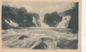 B81054 madagascar les cascades de tsinjoarivo front/back image