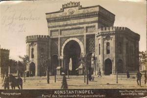 Turkey Constantinopel Istanbul Portal des Seraskierats 1898 RARE - 01.94