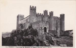 Portugal Obidos Vista geral da Pousada do Castelo Real Photo