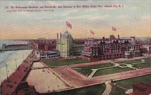 New Jersey Atlantic City The Malborough Blenheim And Bordwalk Also Entrance T...