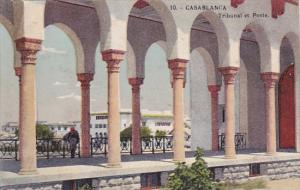 Morocco Casablance Tribunal et Poste