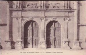France Azay-le-Rideau Le Chateau National Porte d'entree