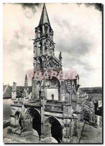 Postcard Moderne St Pere Sous Vezelay Yonne Church