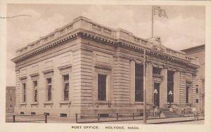 Post Office, Holyoke, Massachusetts, PU-1935