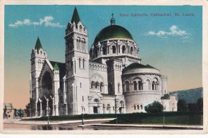 ST. LOUIS, Missouri, 1900-1910s; New Catholic Cathedral