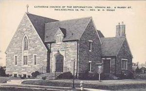 Pennsylvania Philadelphia Lutheran Church of The Reformation Artvue