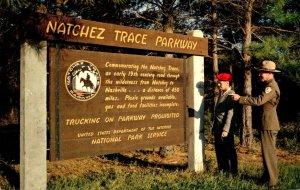 Mississippi Natchez Trace Parkway Sign