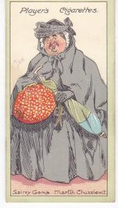 Cigarette Cards Players Characters From Dickens No 24 Sairey Gamp