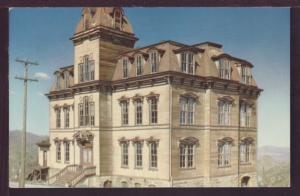 Old 4th Ward School Virginia City NV Post Card 3683