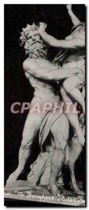 Old Postcard Roma Borghese Pluto Proserpina e