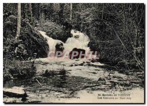 Old Postcard surroundings Potigny Cascades Mont Joly