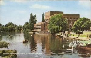 Shakespeare memorial theatre Stratford Upon Avon animated pier