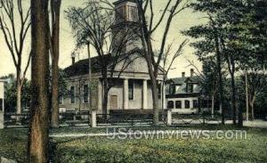 Universalist Church Foxboro MA 1907