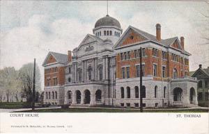 ST THOMAS, Ontario , Canada , 00-10s ; Court House