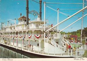 Cotton BLossom Stern-Wheeler Riverboat At Worlds Of Fun Kansas City Miisouri