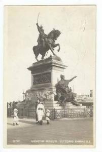 RP  Venezia-Monum. Vittorio Emanuele, PU 1915
