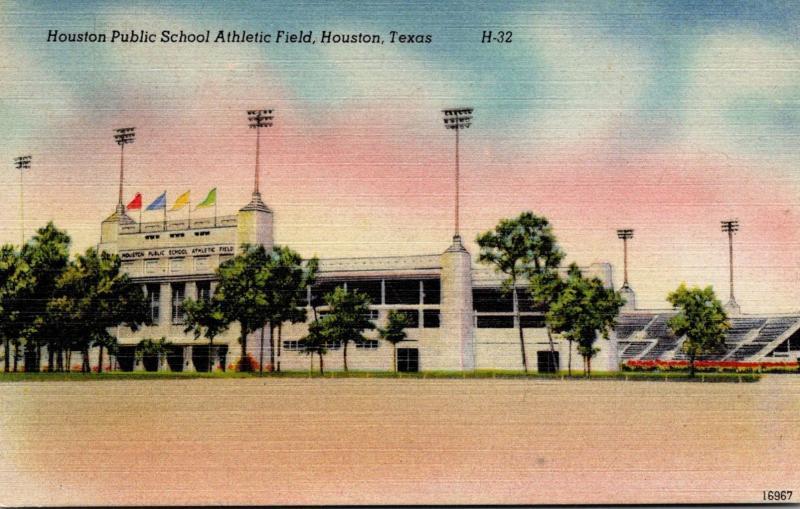 Public School Athletic Field Houston Texas