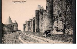 CITE DE CARCASSONNE, Aude, France; Les Lices Hautes, 00-10s