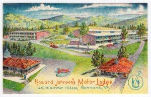 Roanoke, Va, Howard Johnson's Motor Lodge