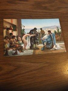 Vintage Postcard Marchand D Esclave , V Giraud