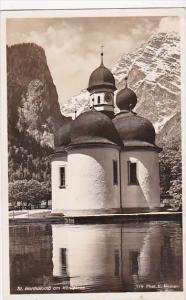 Germany St Bartoloma Am Koenigsee Real Photo