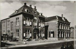 CPA AK Bunschoten Gemeentehuis NETHERLANDS (728794)