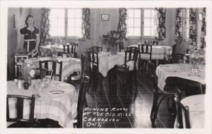RP: CARNARVON , Ontario, Canada , 30-40s ; Dining Room at the Old Mill