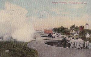 FORTRESS MONROE, Virginia, PU-1911; Target Practice