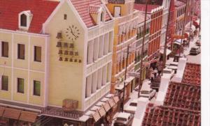 Curacao Birds Eye View Of Brederstraat Main Business Street