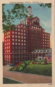 New York Syracuse Memorial Hospital 1943