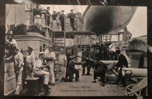 Mint Germany Real Picture Postcard RPPC Cadets Training Kaiserliche Marine WW1 B
